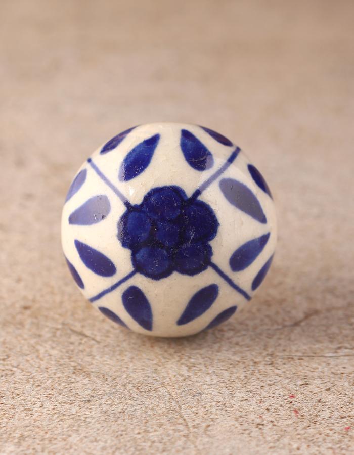 White Ceramic Drawer Cabinet