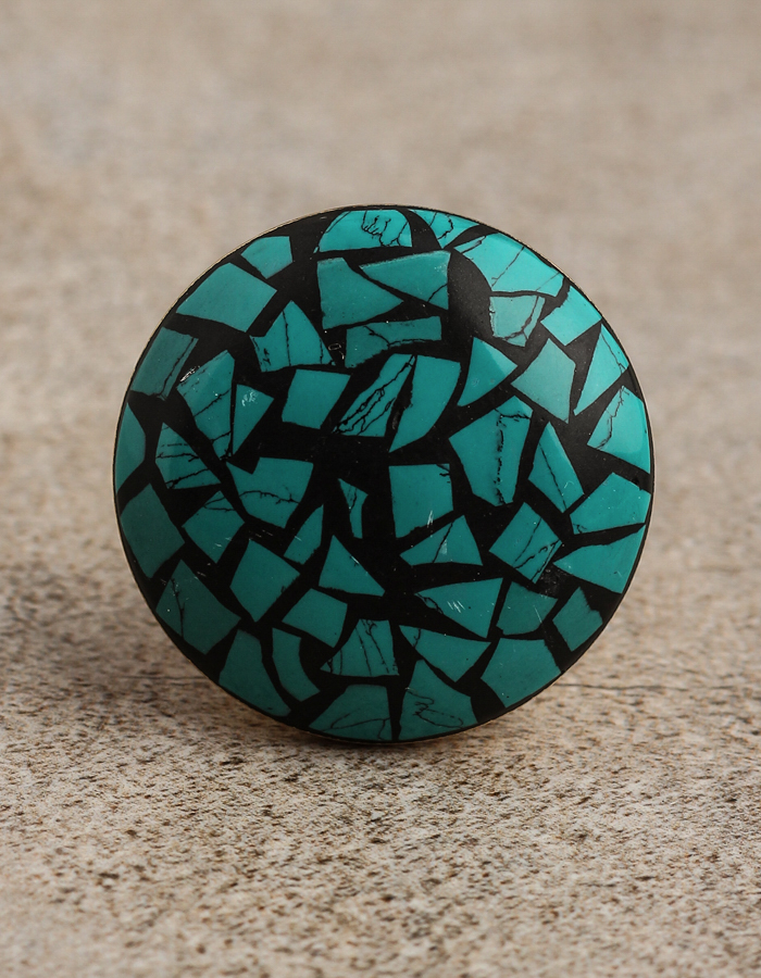 Rustic Kitchen Cabinet Knobs Rustic Turquoise Design Resin Kitchen CabiKnobs  Knobco