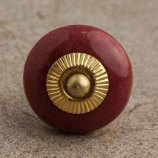 BPCK-088-B Thulian Pin Cabinet Knob-Brass