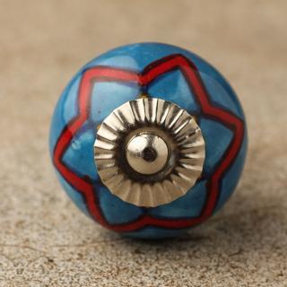 BPCK-111 ceramic knob-Silver