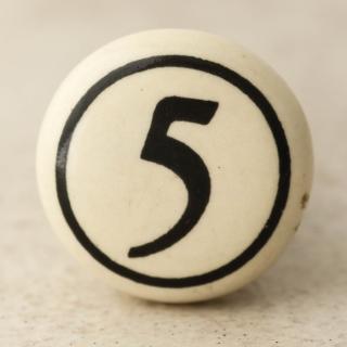 NKPS-012 5 Numbering knob