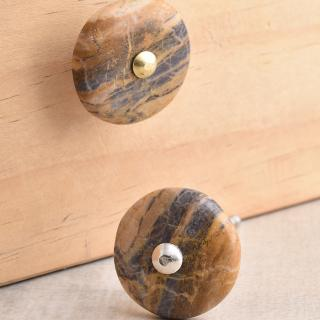 Agate Natural Gemstone Cabinet Furniture Knobs
