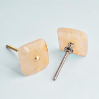 Agate Natural Gemstone Cabinet Furniture Knobs