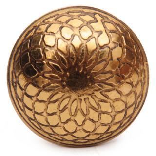 Brass knob-AAH-019-Small