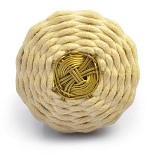 Thread and Metal Wire Weaved Cabinet Knob (Medium)