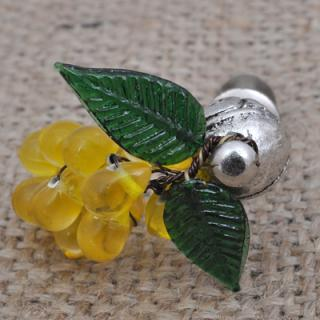 BPMK-5043-Yellow Pomegranate Seeds Knobs