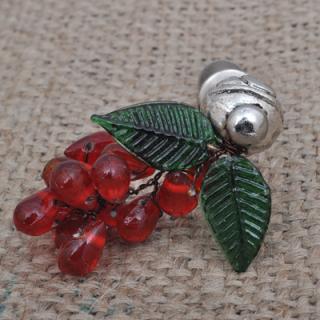 BPMK-5044-Red Pomegranate Seeds Knobs