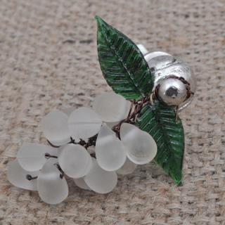 BPMK-5046-White Pomegranate Seeds Knobs