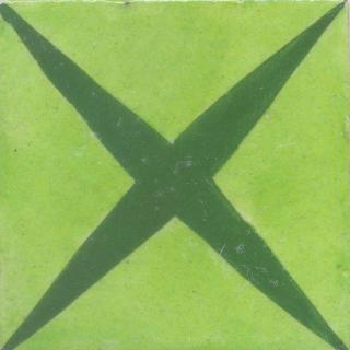 Green and Lime Green Tile