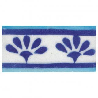 Blue and Turquoise design Tile