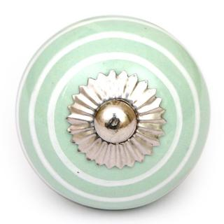 KPS-4598 Green and White Colored knob