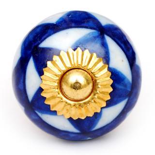 KPS-4634 Blue Cabinet Knob