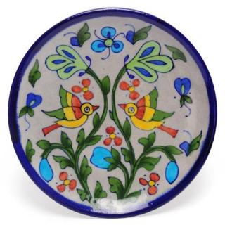 Two Birds design Plate 8""